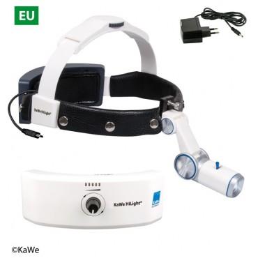 KaWe LED-Kopfleuchte H-800 mit Akku für Kopfband