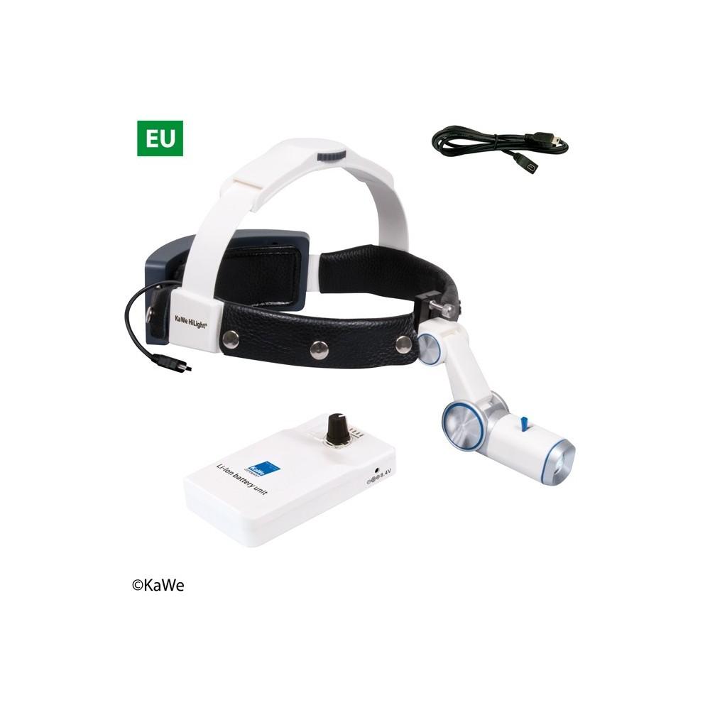 KaWe LED-Kopfleuchte H-800 mit Akku für Gürtel