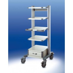 Carrello per endoscopia toro HAEBERLE 1 45