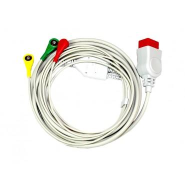 Cavo paziente ECG a 3 fili per Compact 7 e 9