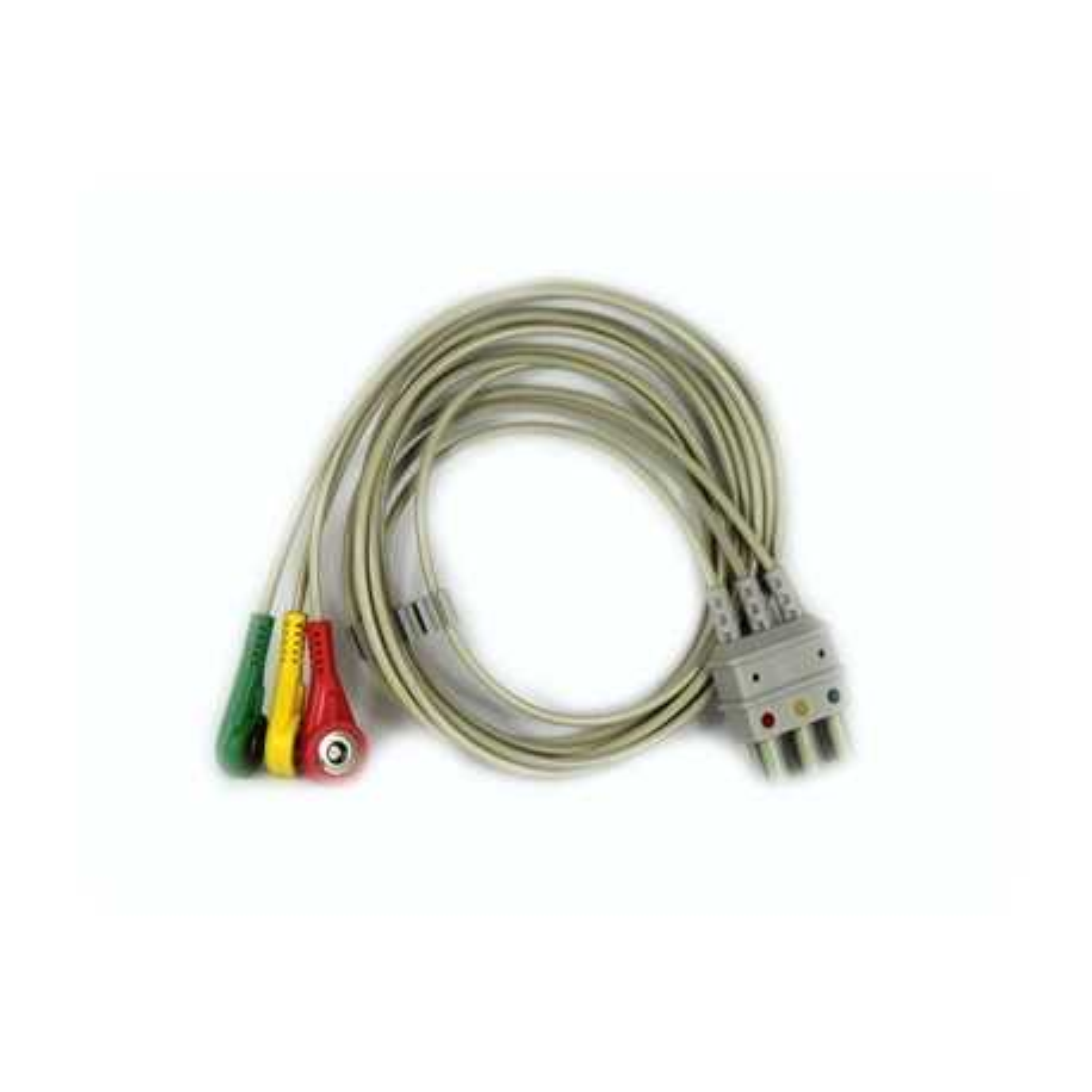 Câble de dérivation ECG 3 fils pour Compact 5