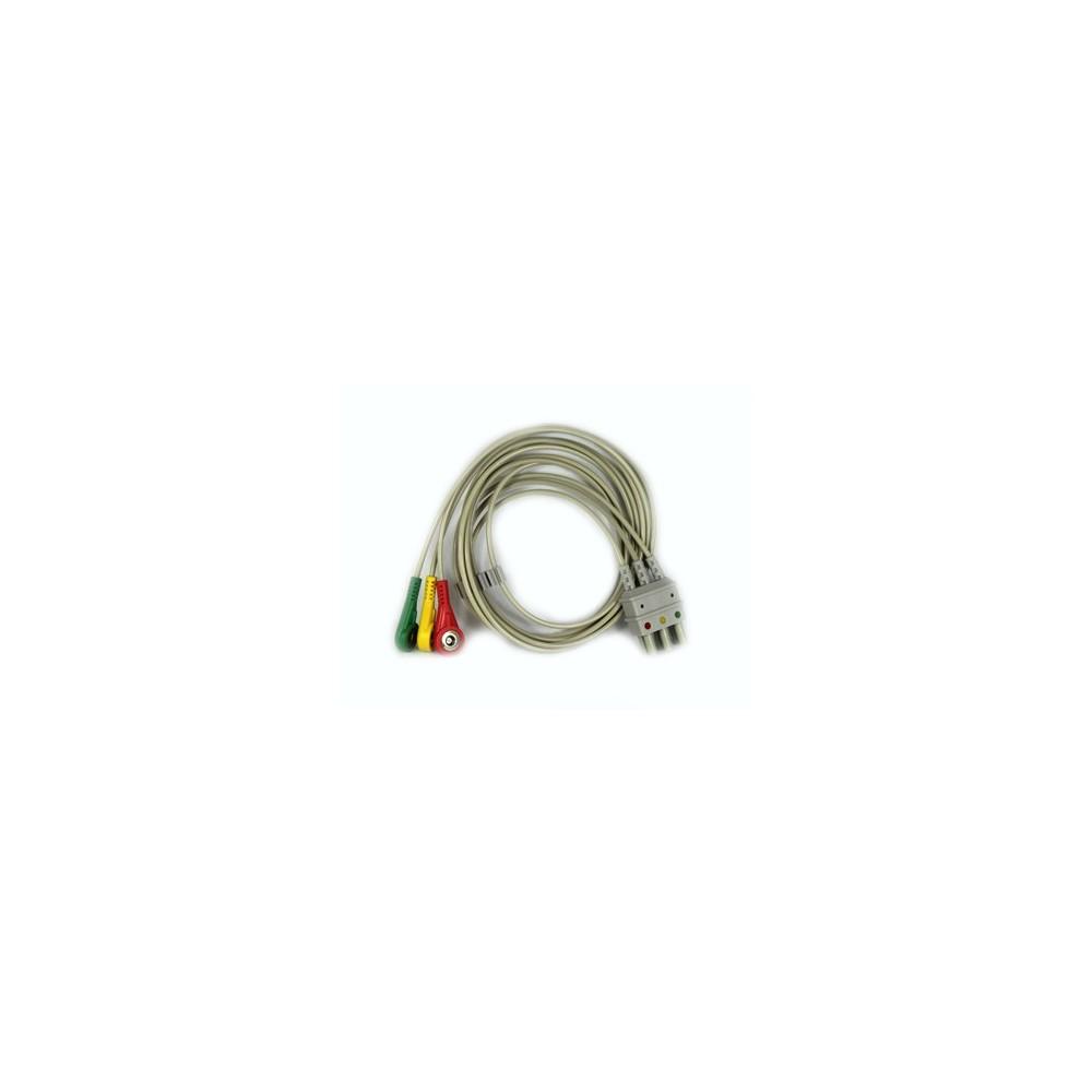 EKG Ableitungskabel 3-adrig für Compact 5