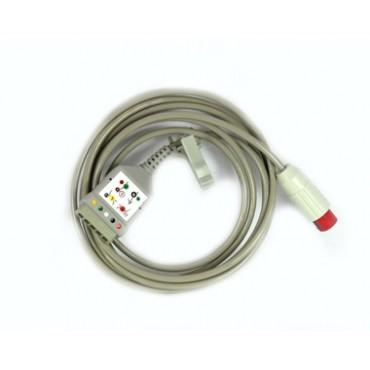 EKG Ableitungskabel 5-adrig für Compact 5