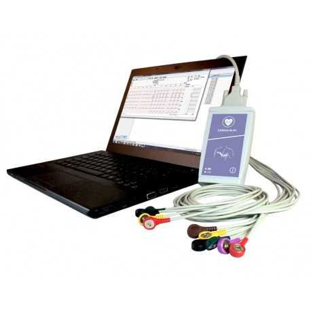 Cardio M-PC USB 12 canaux PC ECG de repos avec GDT