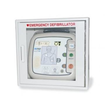 Boîtier mural défibrillateur ME PAD avec alarme