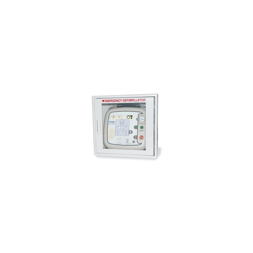 Defibrillator-Wandkasten mit Alarm für ME PAD