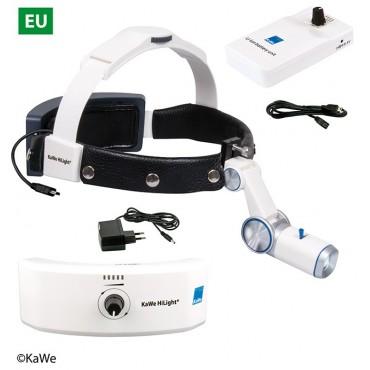 KaWe LED-Kopfleuchte H-800 mit Akku für Kopfband und Gürtel