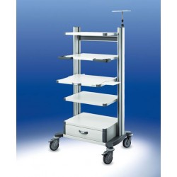 Carrello per endoscopia toro HAEBERLE 2 45