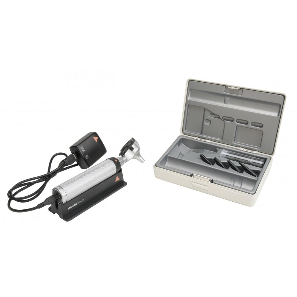 Ensemble d'otoscopes HEINE BETA 200 LED FO BETA 4 USB