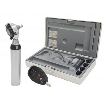 HEINE BETA 400 F.O. Otoskop und Ophthalmoskop Set