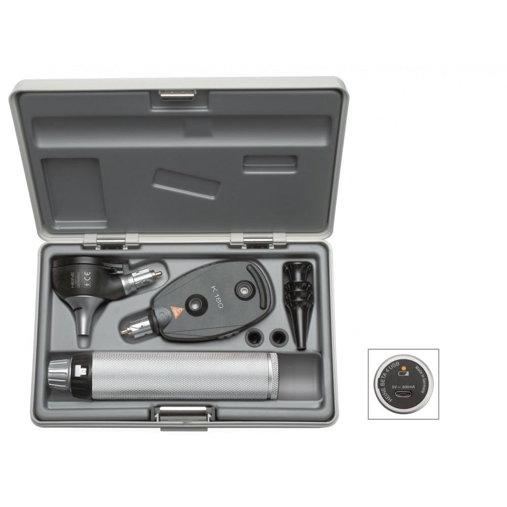 Kit de diagnostic HEINE K 180 avec BETA 4 USB