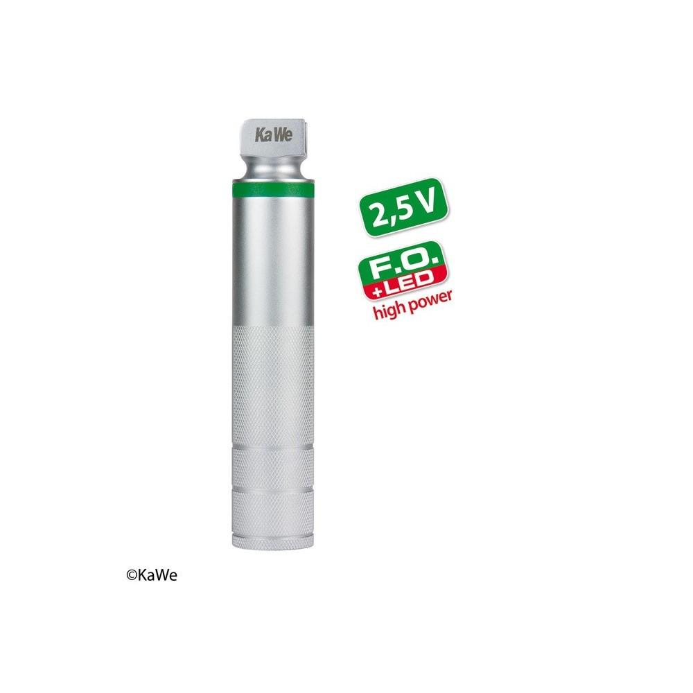 KaWe Laryngoskop Batteriegriff F.O. LED high power, C mittel