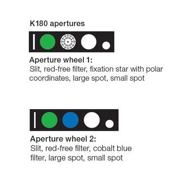 HEINE K 180 Ophthalmoskop Blendenrad 1