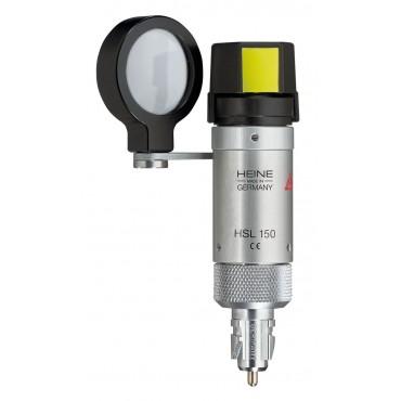 Set di lampade a fessura HEINE HSL 150 con lente d'ingrandimento HSL 10 x