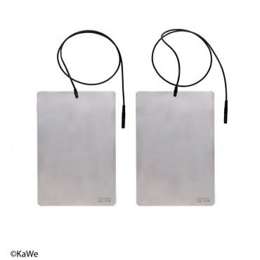 Piastre per elettrodi comprendenti cavi per il dispositivo di lontoforesi SWI-STO
