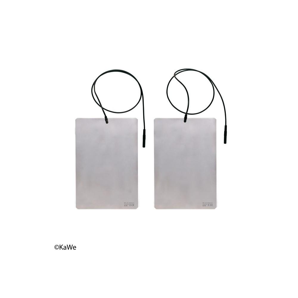 Plaques d'électrodes avec câbles pour le dispositif de lontophorèse SWI-STO