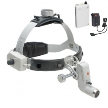 Kopfleuchte HEINE ML4 LED mit mPack und Steckertrafo
