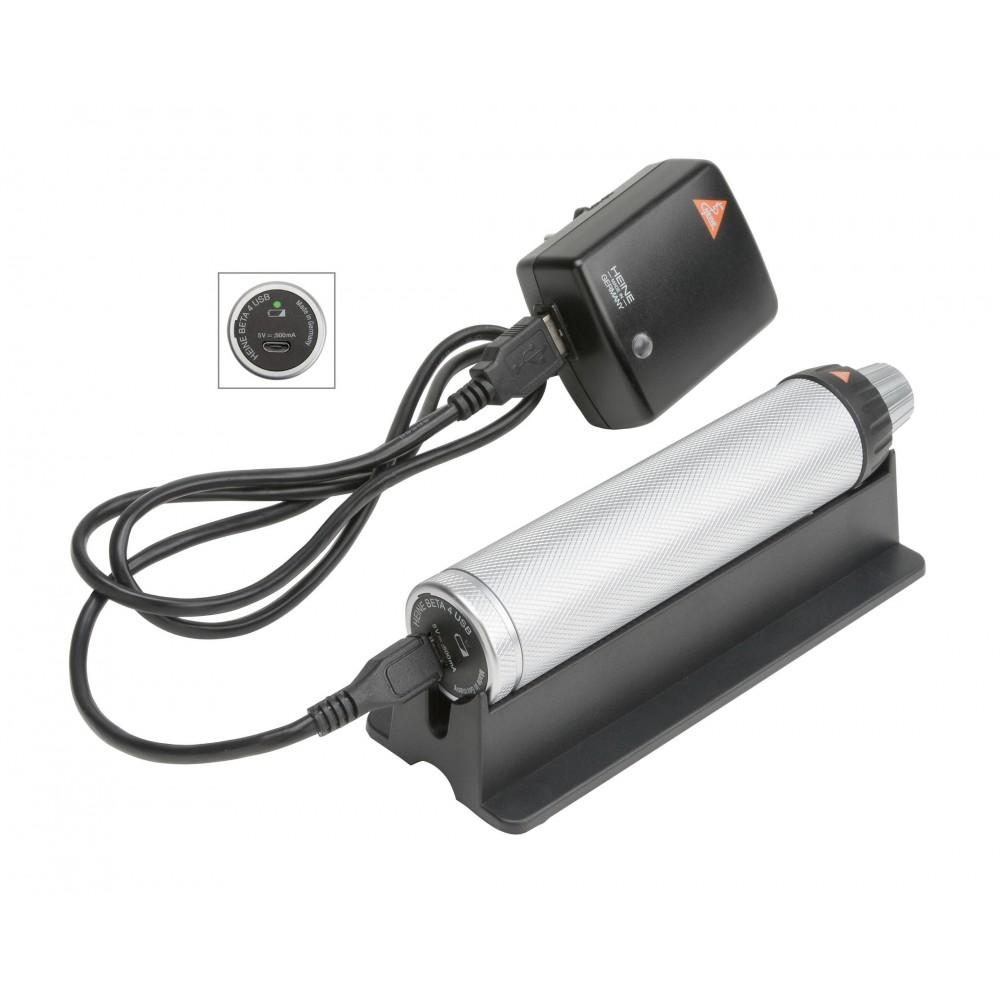 Poignée rechargeable HEINE BETA 4 USB Li-ion
