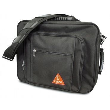 Kombi-Tasche für kopfgetragene Ophthalmoskope.