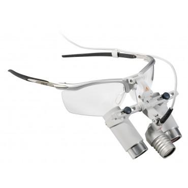 HEINE LoupeLight 2 Set con lenti binoculari HRP 3.5x