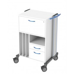 carrello di reparto per visite swingo 1