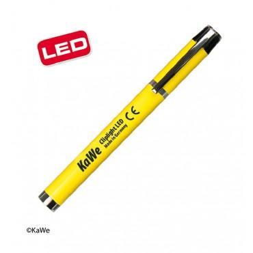 KaWe CLIPLIGHT Lampada pupillare a LED, gialla
