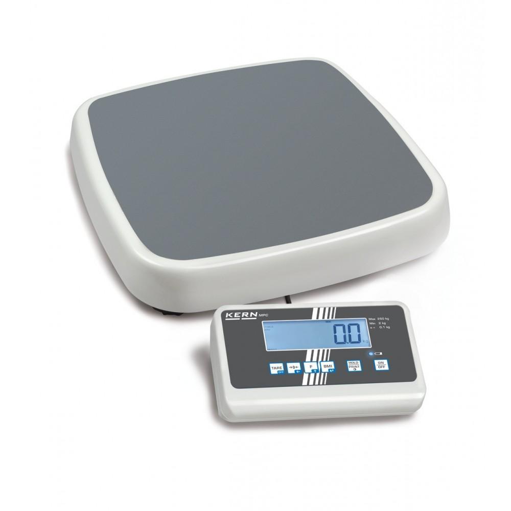Pèse-personne médical calibré Kern MPC 250K100M jusqu'à 250 kg