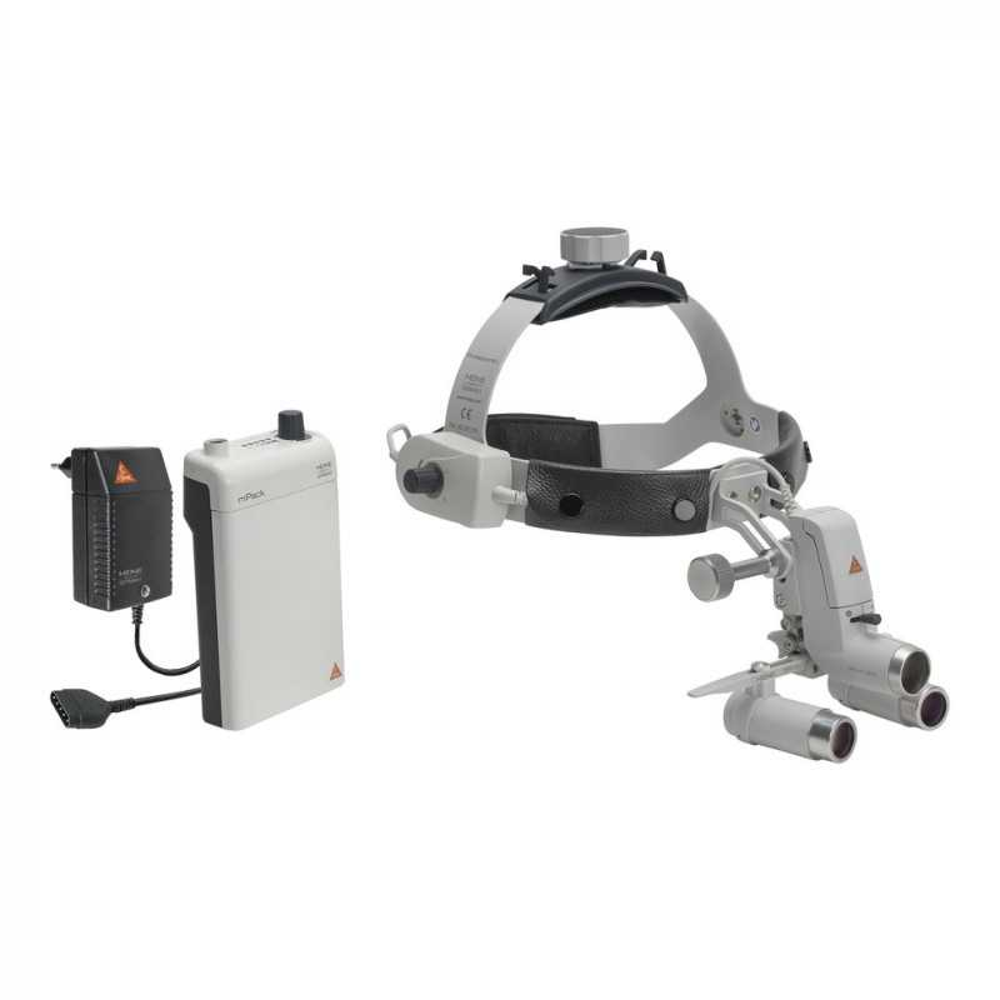 HEINE ML4 LED HeadLight Kit 3c mit HRP Binokularlupen