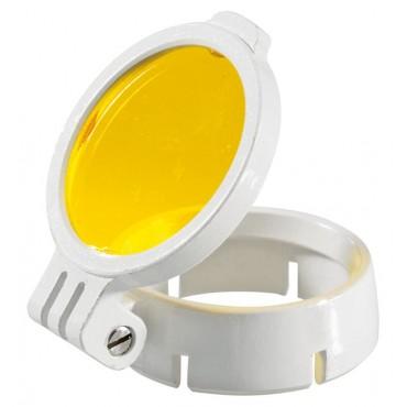 Filtre jaune amovible