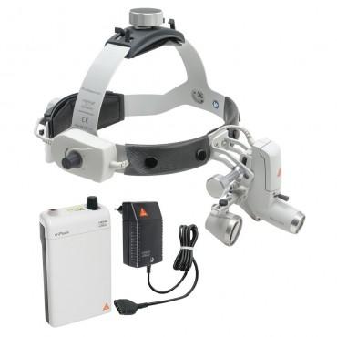 HEINE ML4 LED HeadLight Kit 1c mit HR Lupen 2.5x /340mm