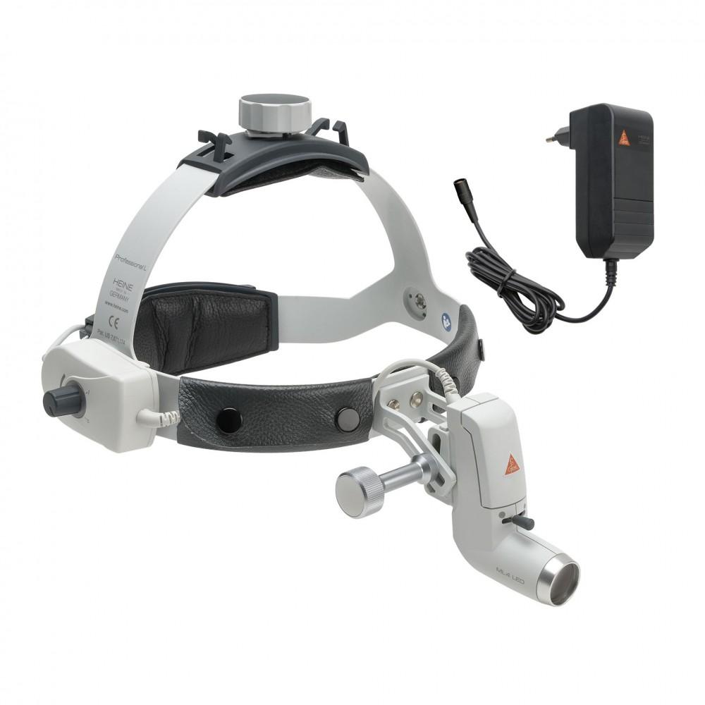Kopfleuchte HEINE ML4 LED mit Steckertrafo