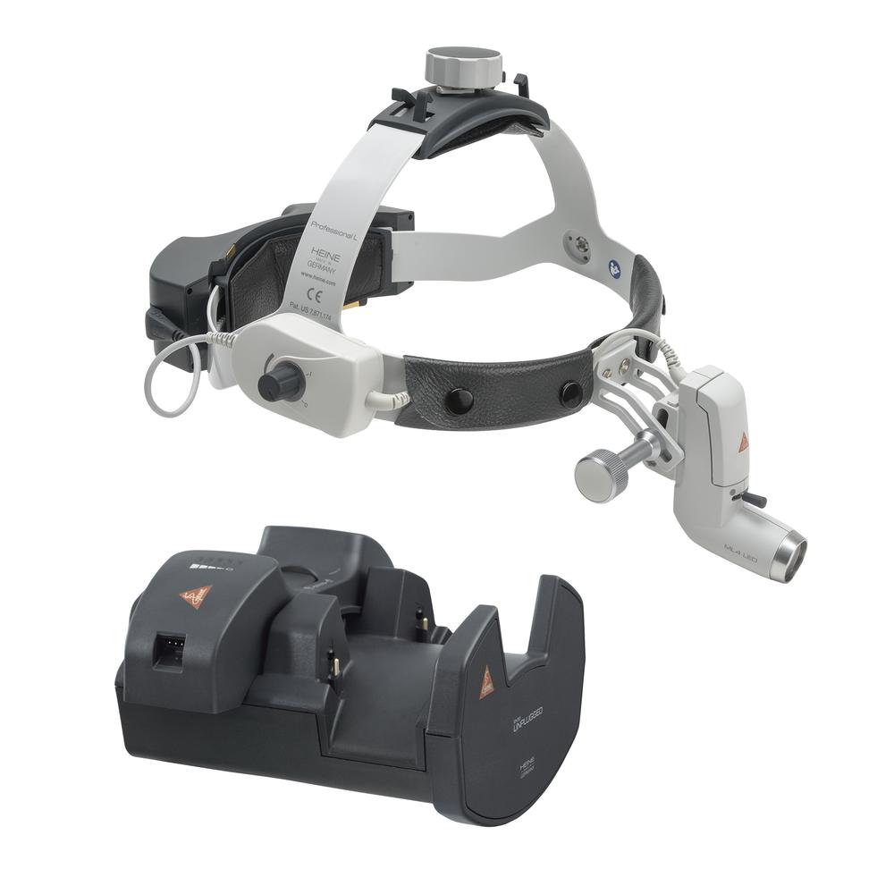HEINE ML4 LED HeadLight avec EN50 et mPack UNPLUGGED