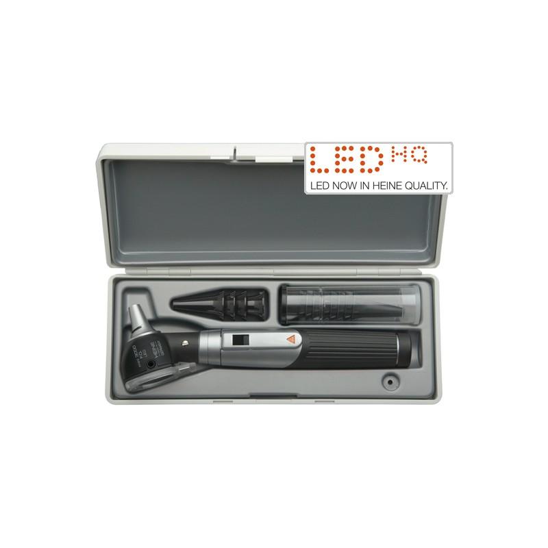 komplettes Angebot an Artikeln bester Verkauf immer beliebt HEINE mini3000 LED F.O. Otoskop Set mit Batteriegriff im Etui