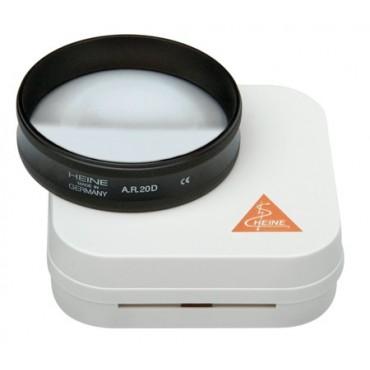 Lente oftalmoscopica asferica HEINE AR 20 D / Ø 50 mm