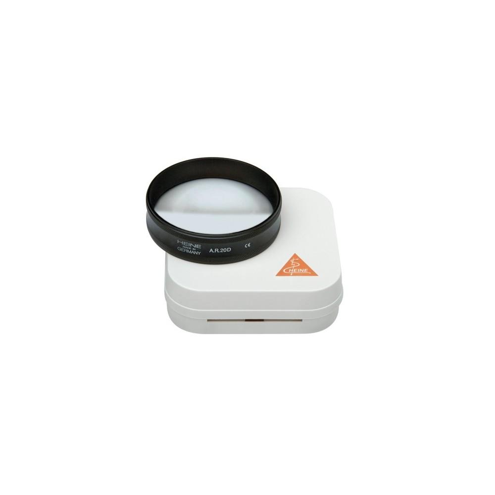 Loupe ophtalmoscopique asphérique HEINE AR 20 D / Ø 50 mm