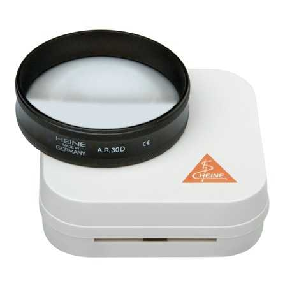 Lente oftalmoscopica asferica HEINE AR 30 D / Ø 46 mm