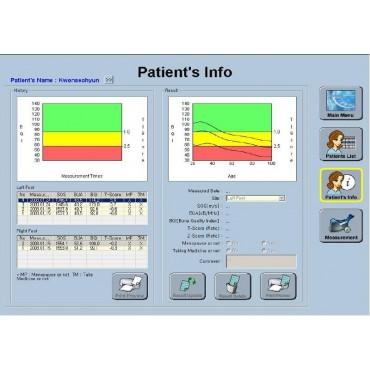 Knochendichte-Messgerät SONOST 2000