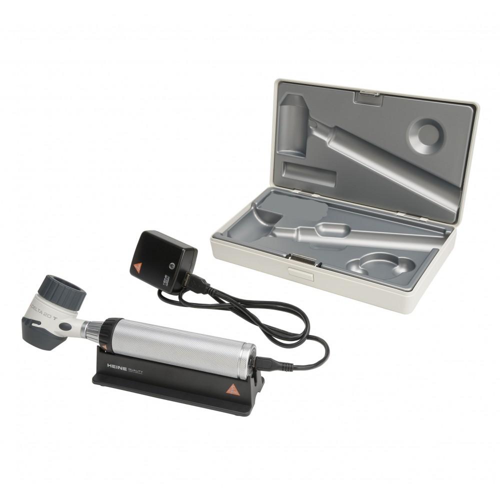 HEINE DELTA 20 T Dermatoskop Set mit BETA 4 USB Ladegriff