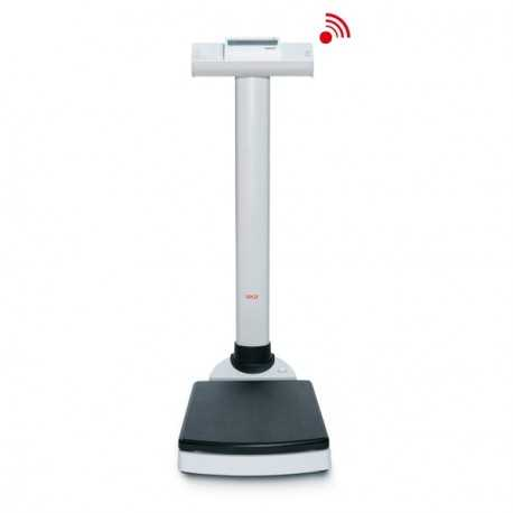 seca 703 - bilance a colonna wireless con una capacità di carico fino a 300 kg