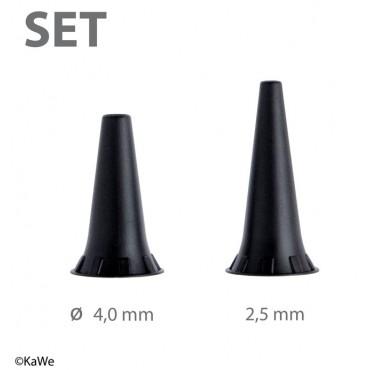 Dauer-Ohrtrichter Set, wiederverwendbar für F.O. Otoskope