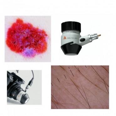 SLR Fotoadapter-Set für DELTA 20 Dermatoskop