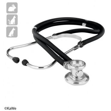 KaWe Rapport VET stetoscopio a doppia testa per veterinari