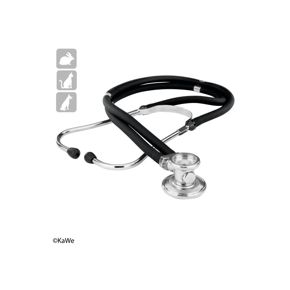 Stéthoscope à double tête KaWe Rapport VET pour vétérinaires