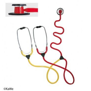 Duo de stéthoscope d'enseignement infirmière KaWe