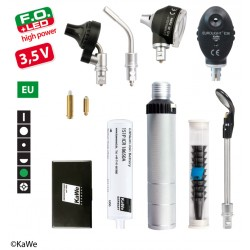 KaWe Diagnostik-Set COMBILIGHT F.O.30 LED /E36 (Grünfilter) 3,5V