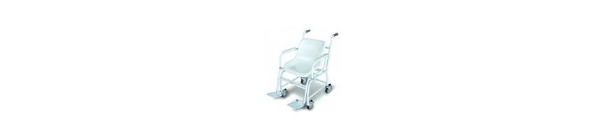 Fauteuils pèse-personnes mobile à quatre roues, étalonnage et approbation médicale