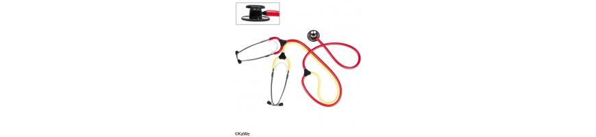 Insegnamento di stetoscopi e stetoscopi per infermiere