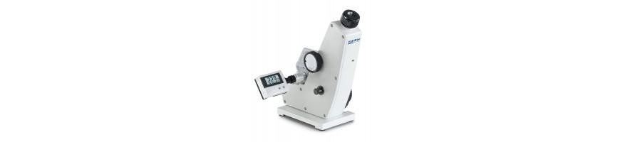 Abbe-Refraktometer hochpräzise Messung von Brechungsindex- Brix-Skalen