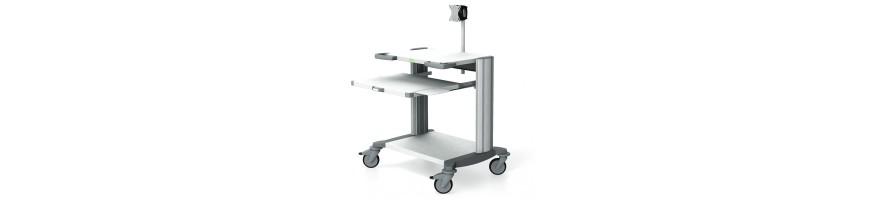Chariot informatique médical HAEBERLE