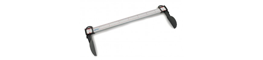 bâtons de mesure de hauteur mécaniques avec agrément médical